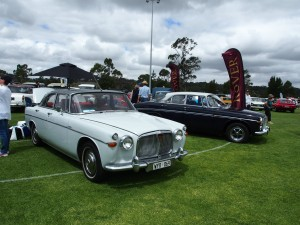 Fine Rover P5 Coupes All British Day 2016