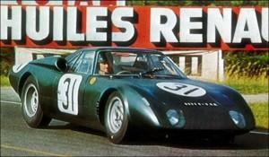 Rover BRM racecar mg